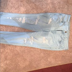 AE hi-rise jeggings size 18